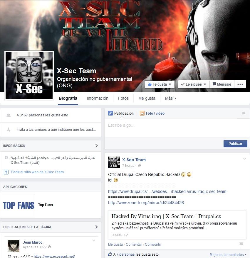 grupo facebook grupo-facebook-x-sec team